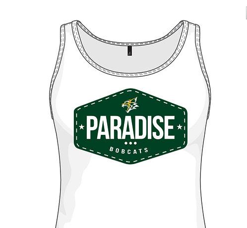 Paradise White Tank Top (Women's)