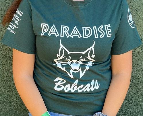 Green Paradise Bobcats T-shirt