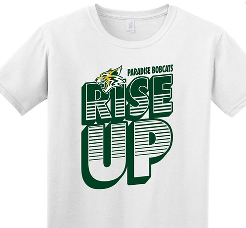 Rise Up White T-shirt