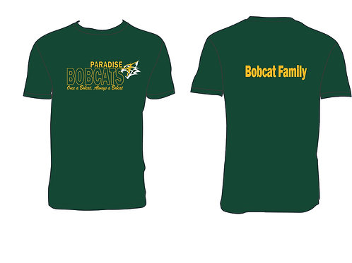 Bobcat Family Tshirt