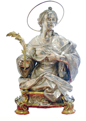 Statua argentea di S. Agata