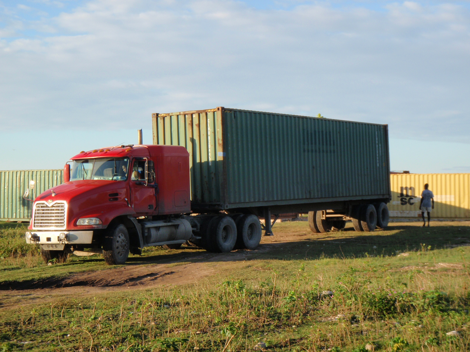 Our Container Arrived!
