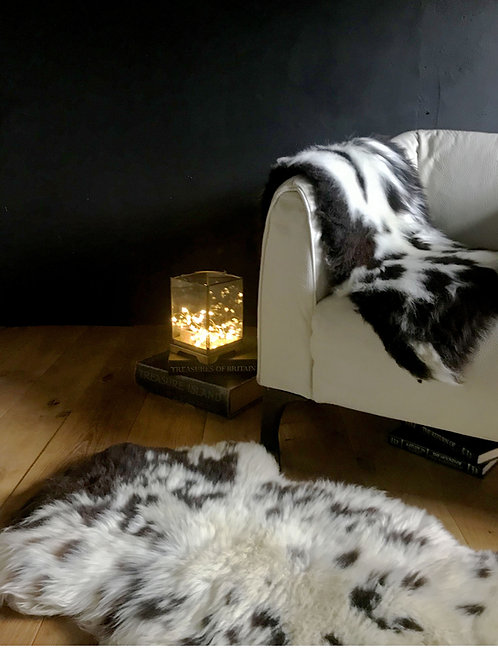 Decorative Rare Breed Sheepskin Rug