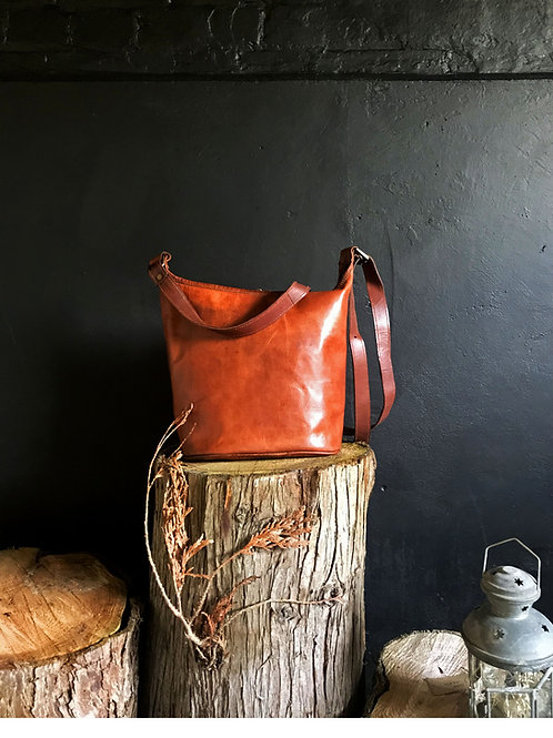 Tantallon Leather Tote Bag