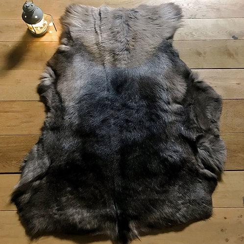 Dark Russian Reindeer Rug