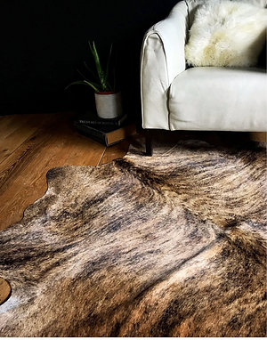 Brindle Cow Hide Rug