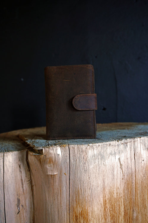 Buffalo Leather Handmade Credit Card Case