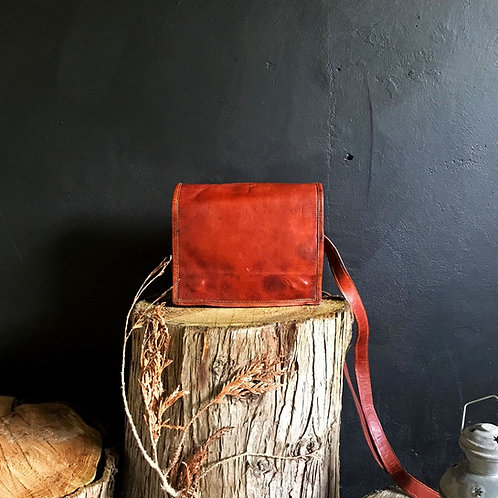 Kelso Leather Courier Bag
