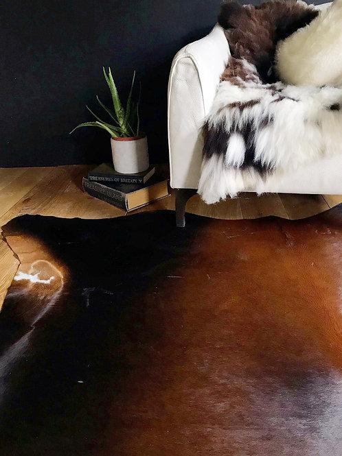 Tri-Coloured Cow Hide Rug