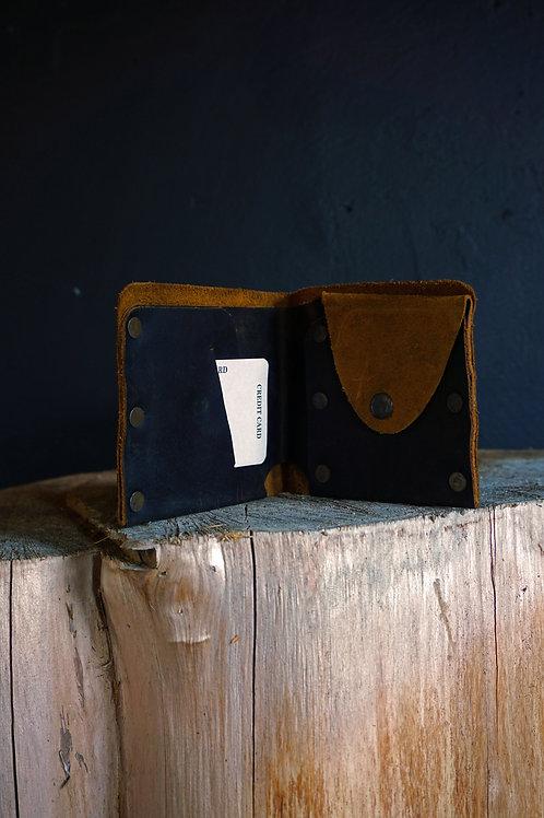 Buffalo Studded Leather Wallet