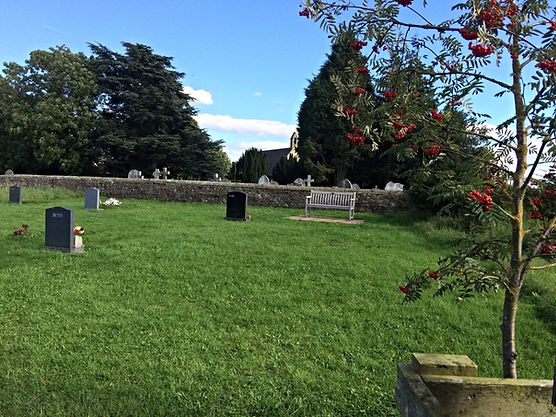 Photo of the Burial Ground at Great Fencote