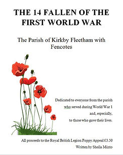 Photo of the cover of a booklet about the First World War by Sheila Minto