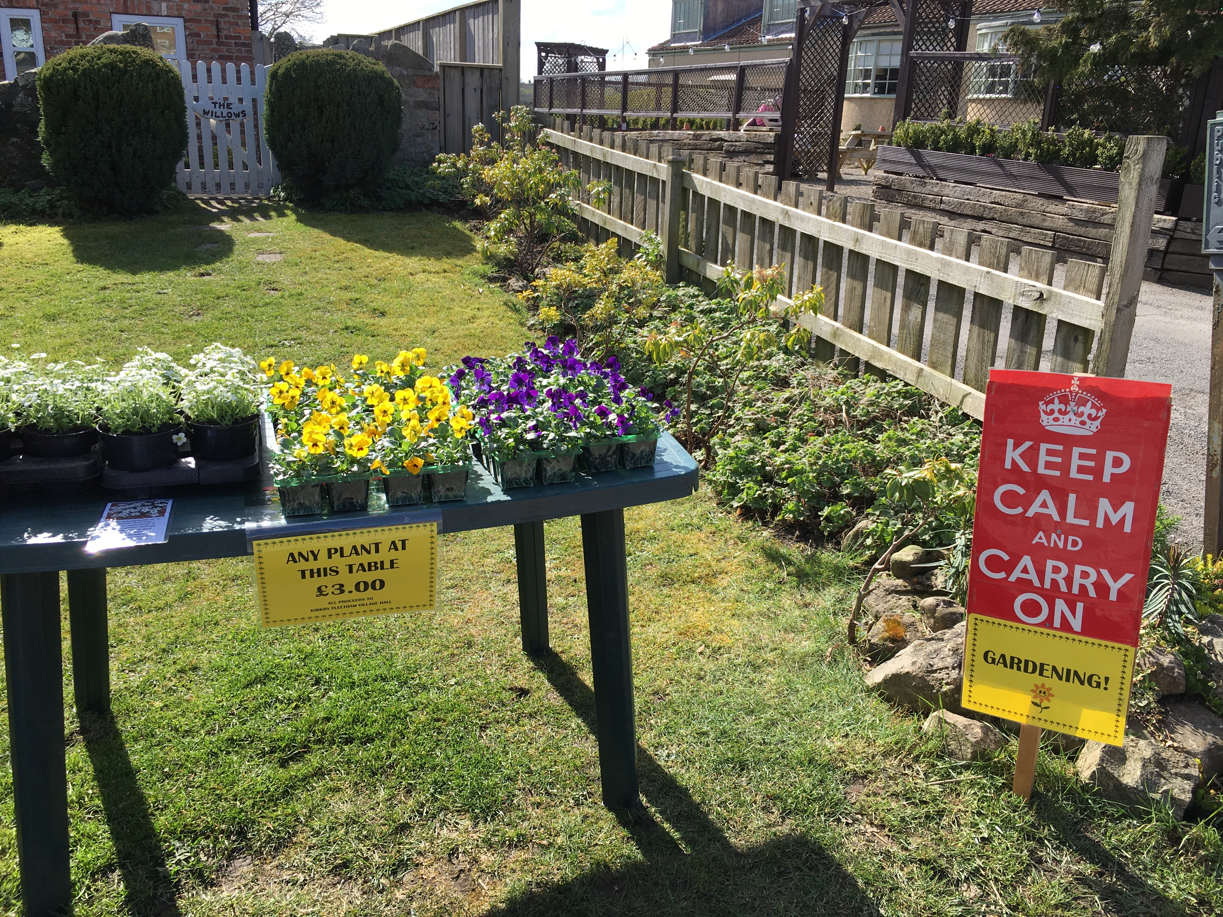 Keep calm and carry on GARDENING