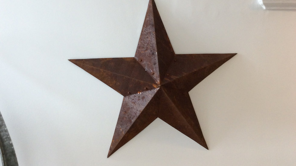 Small Metal Barn Star
