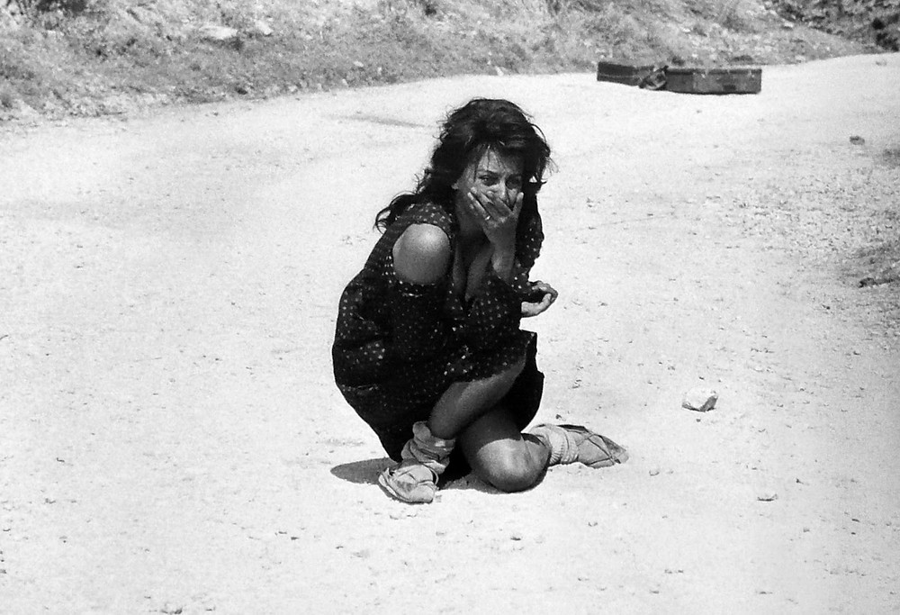 "Sophia Loren, no filme ""Duas Mulheres"""