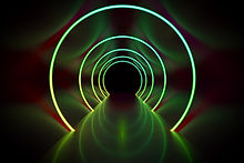 neon-light-circles-tunnel-background-79Q