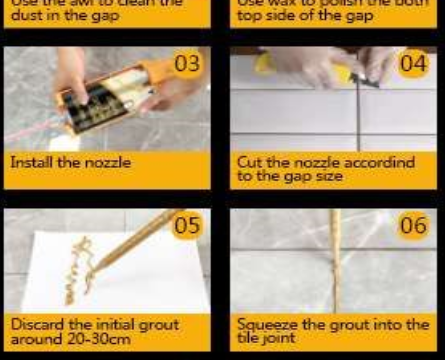 Things to note for D.I.Y grout sealing