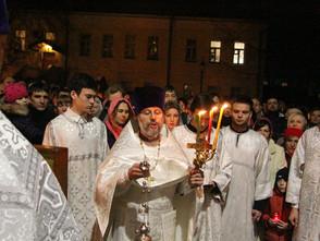 Пасха Христова в Сергиевском храме