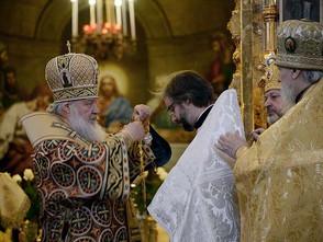 Протодиакон Александр Михеев рукоположен в сан пресвитера.