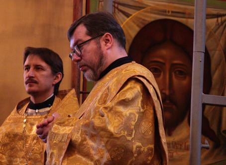 Годовщина диаконского служения диакона КонстантинаАфонина