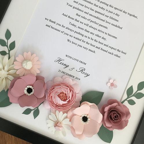 A3 Flower Frame