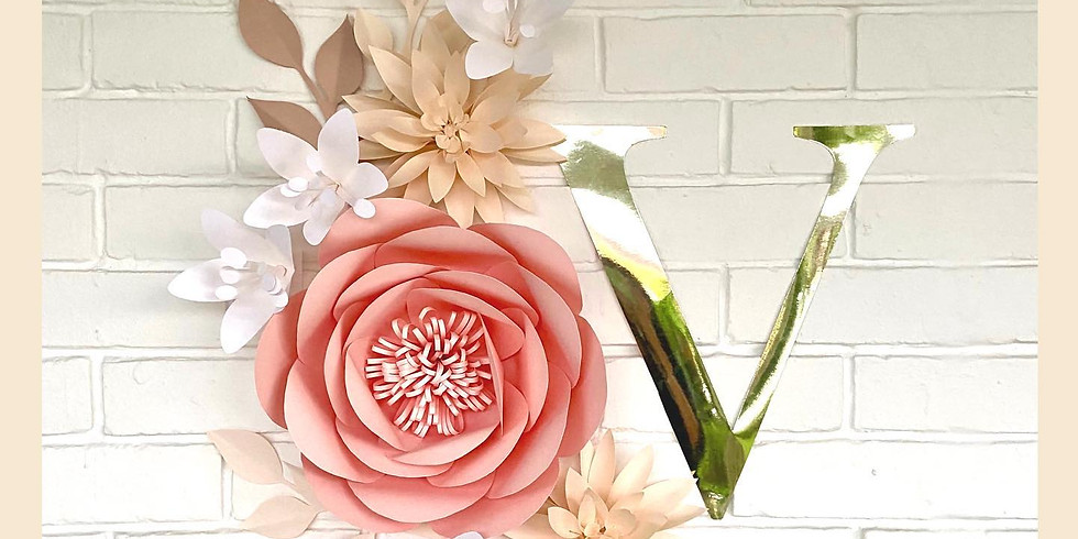 Paper Flower Wall Workshop