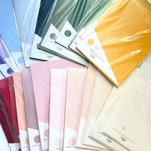 Color Papers  A4 (10 Sheets /Pkt)