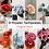 Thumbnail: [DIGITAL FILE] 8 Flowers Template