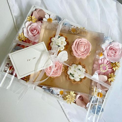 Blossom Flower Frame & Tarts