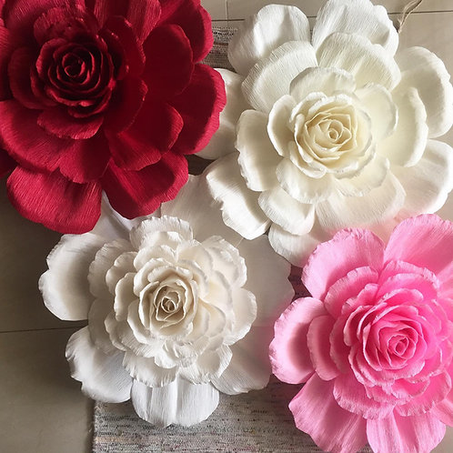 Huge Crepe Paper Chinese Peony