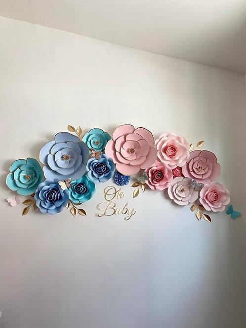 Baby Shower Flower Set