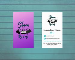 """Shava the Bag Lady"" Business Card"