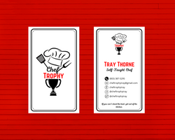 Trophy Tray Business Cards (Marketing)