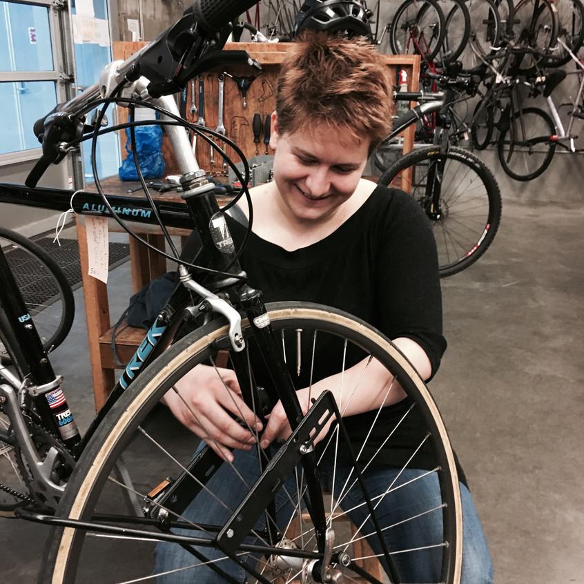 Fixing myself my own bike!