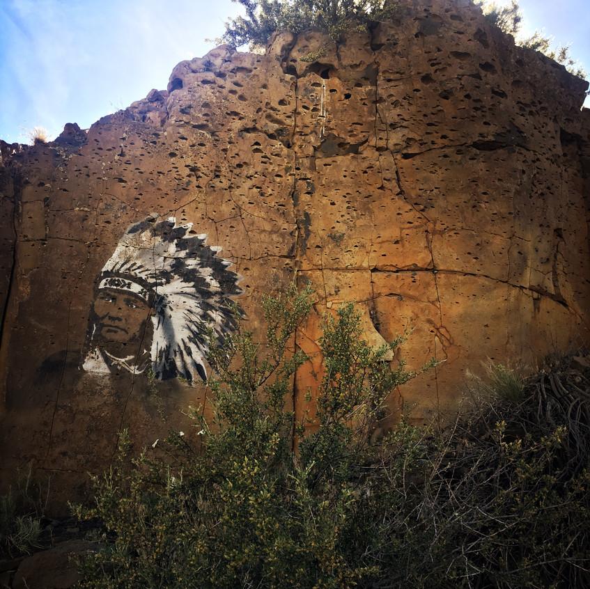 Wild West graffiti