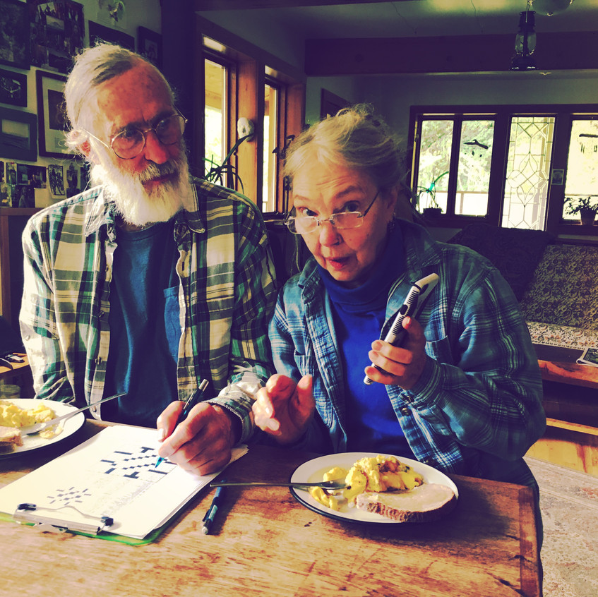 Alice & Gary CHEATING in crosswords