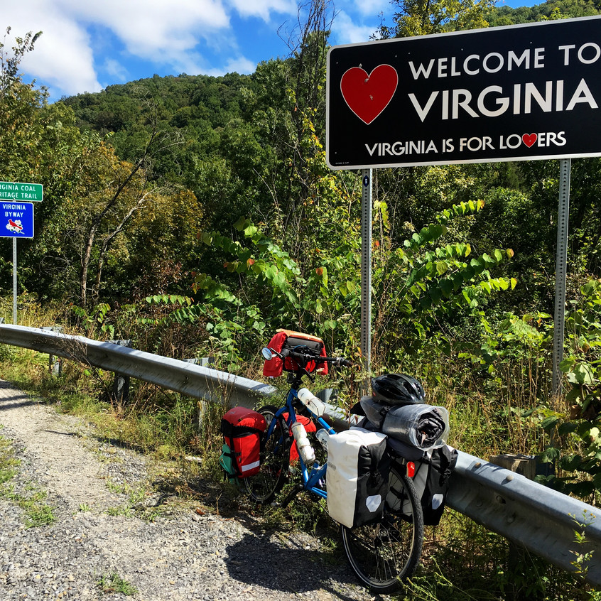 Finally in Virginia!