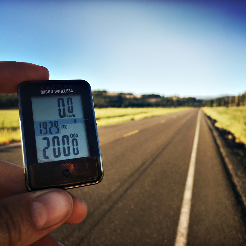 2000 km threshold!