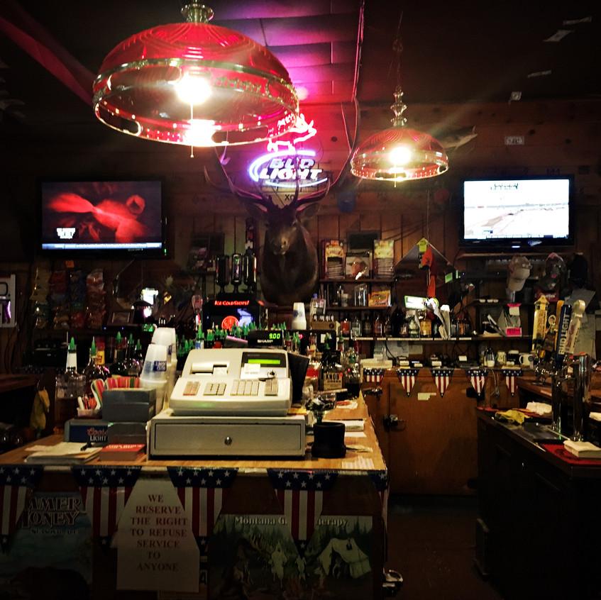 A real American bar!!!