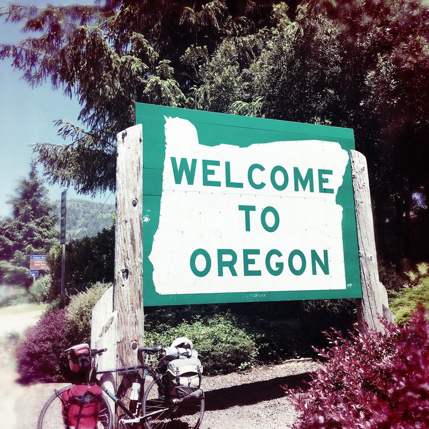 Welcome Oregon!