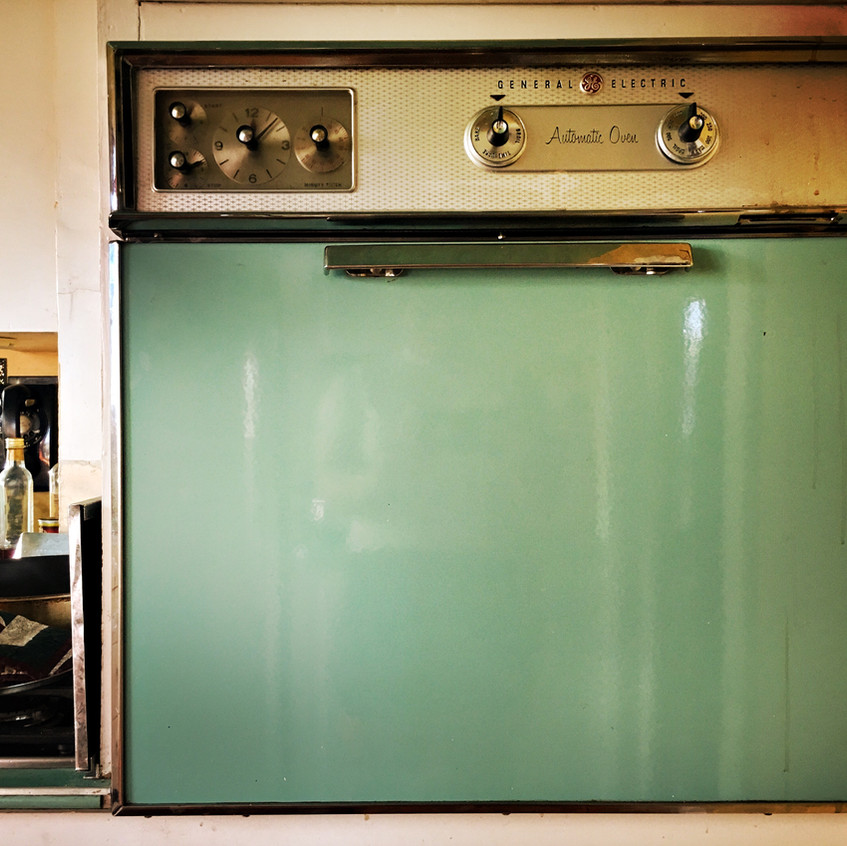 ... and oven