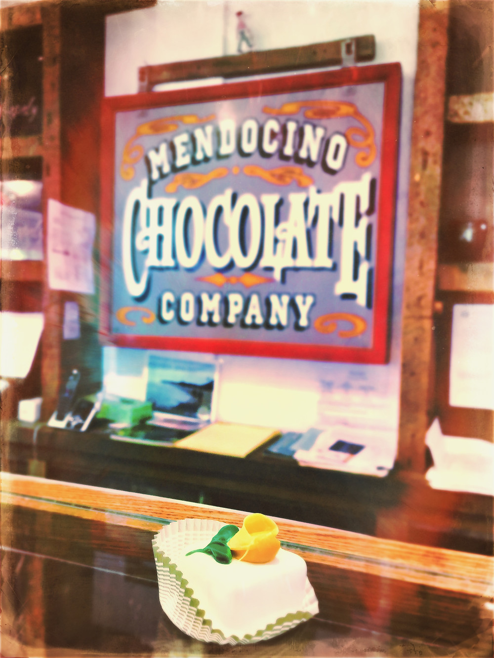 Rhum-filled chocolate extravaganza by Mendocino Chocolate Company.