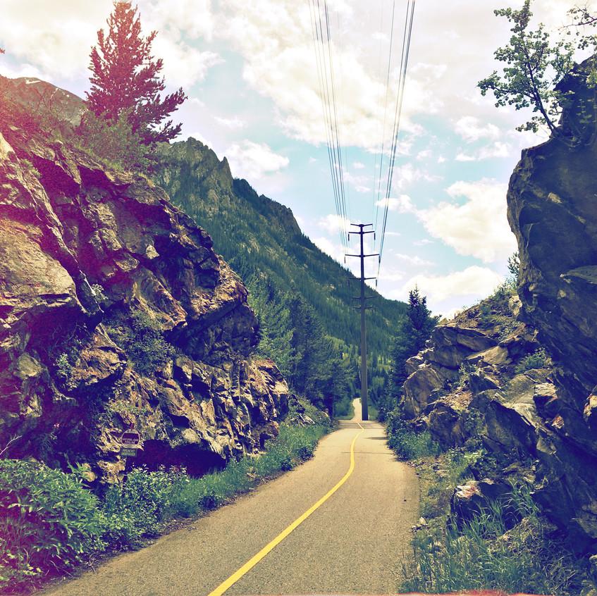 Copper Mountain bike path
