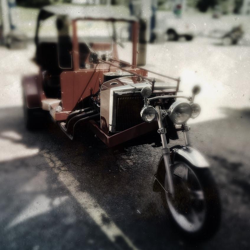 Is it a car? Is it a bike?