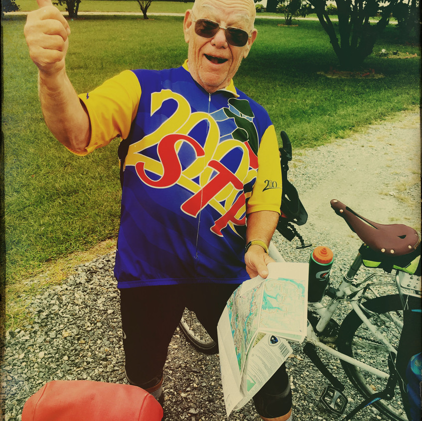 Steven - the 75 year old cyclist
