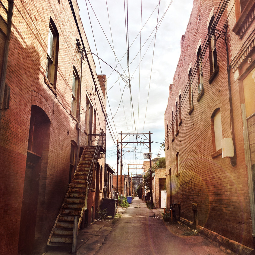 Canon City's back alleys
