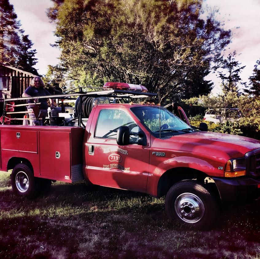 Judy's fire truck!