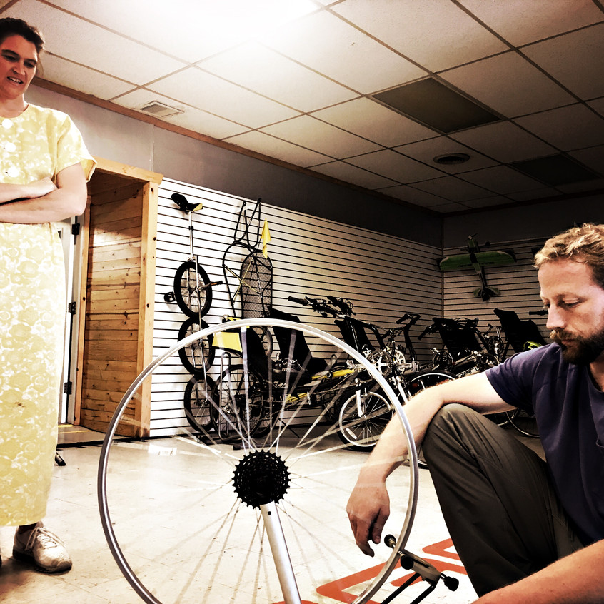 The RANS Bikes workshop