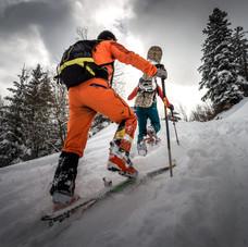 Photo ski de randonnée