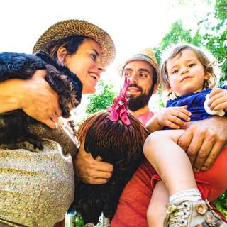 Portrait photo famille